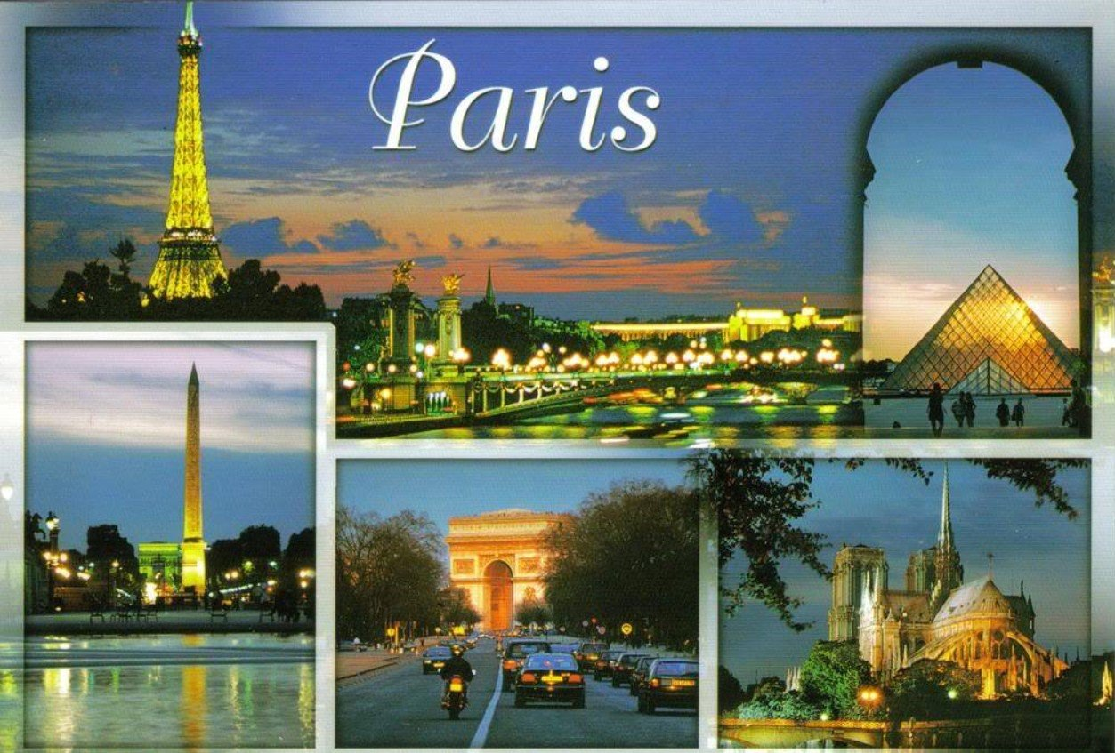 2Questions-025145 (Postcard Paris, France)