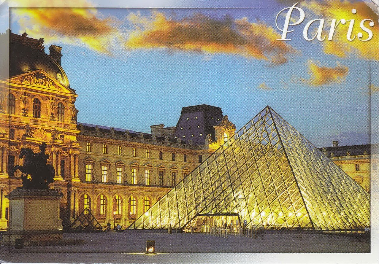 2Questions-025146 (Postcard Paris, France)