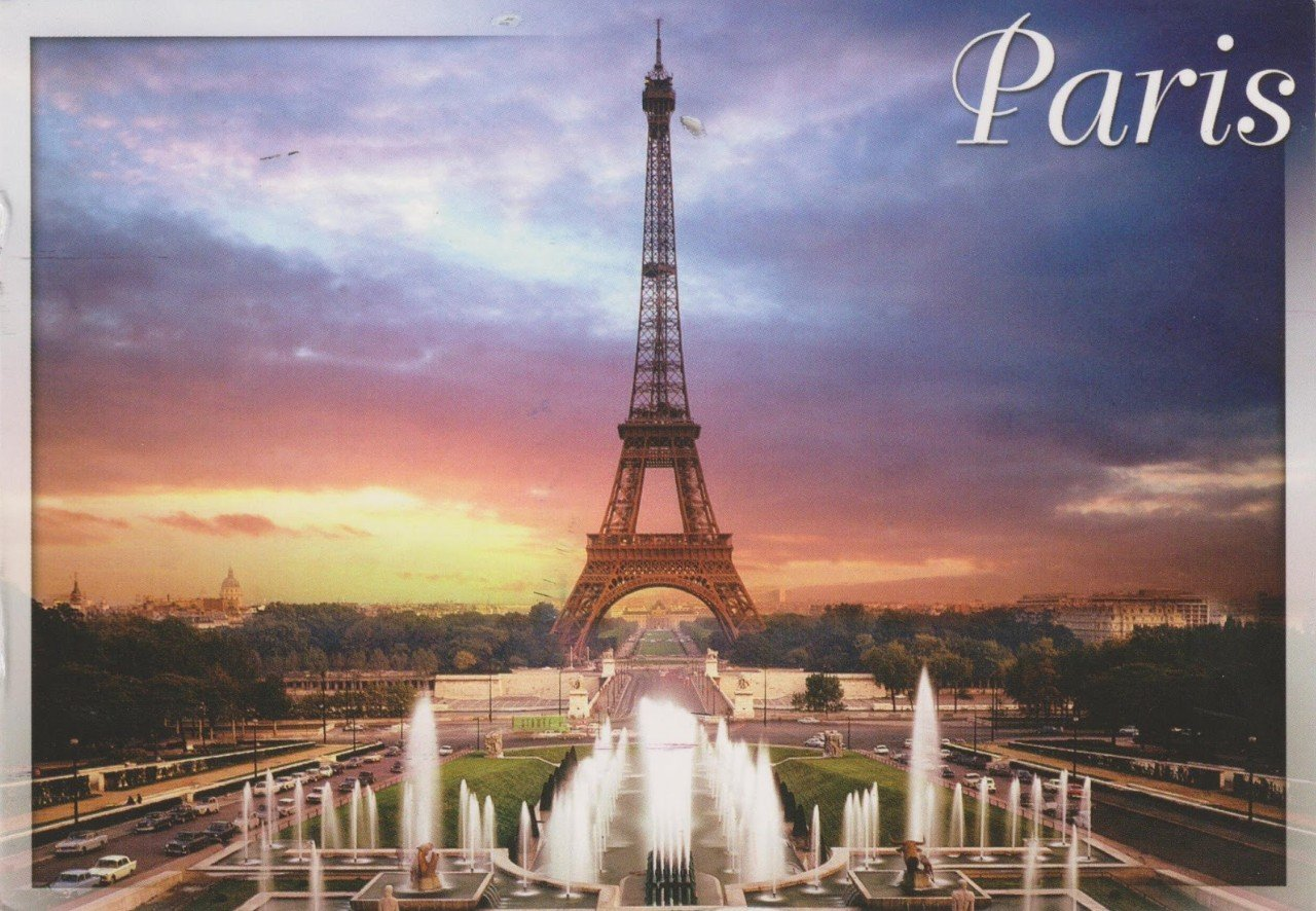 2Questions-025147 (Postcard Paris, France)