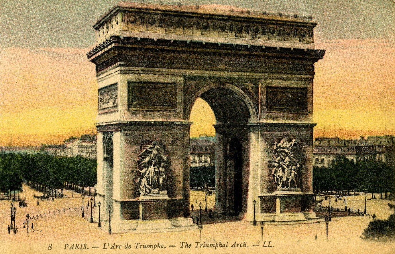 2Questions-025149 (Postcard Paris, France)