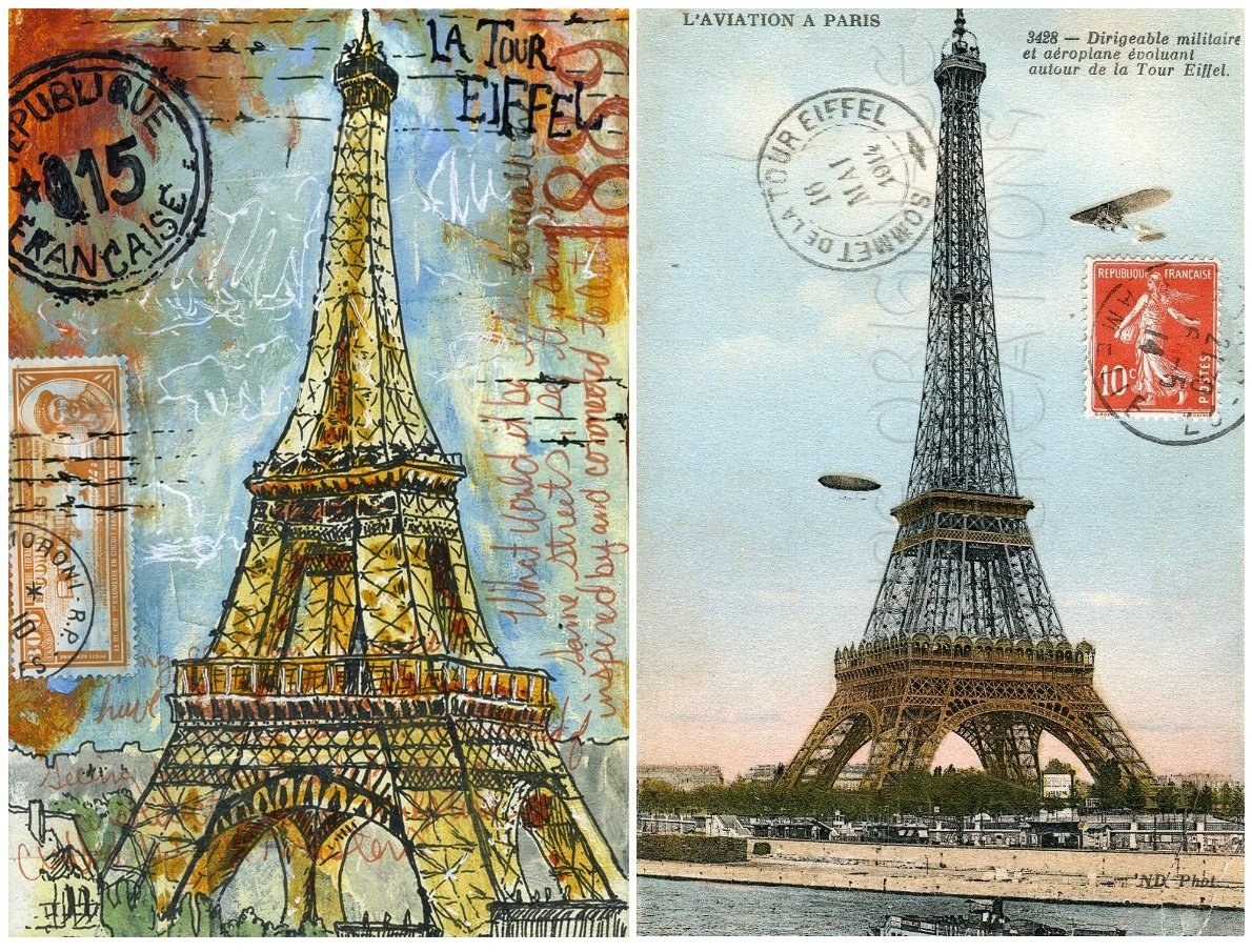 2Questions-025152 (Postcard Paris, France)