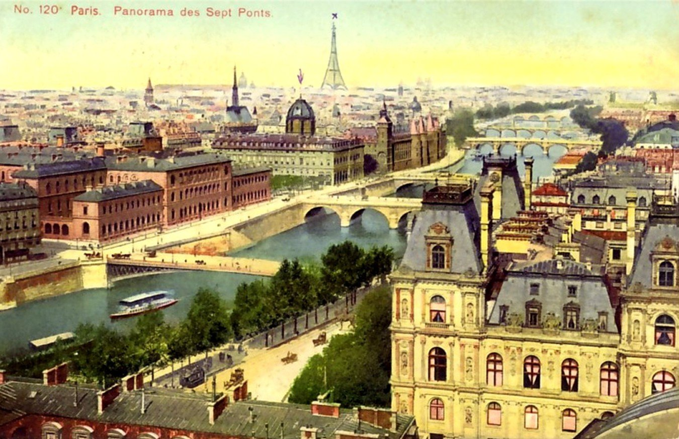 2Questions-025154 (Postcard Paris, France)