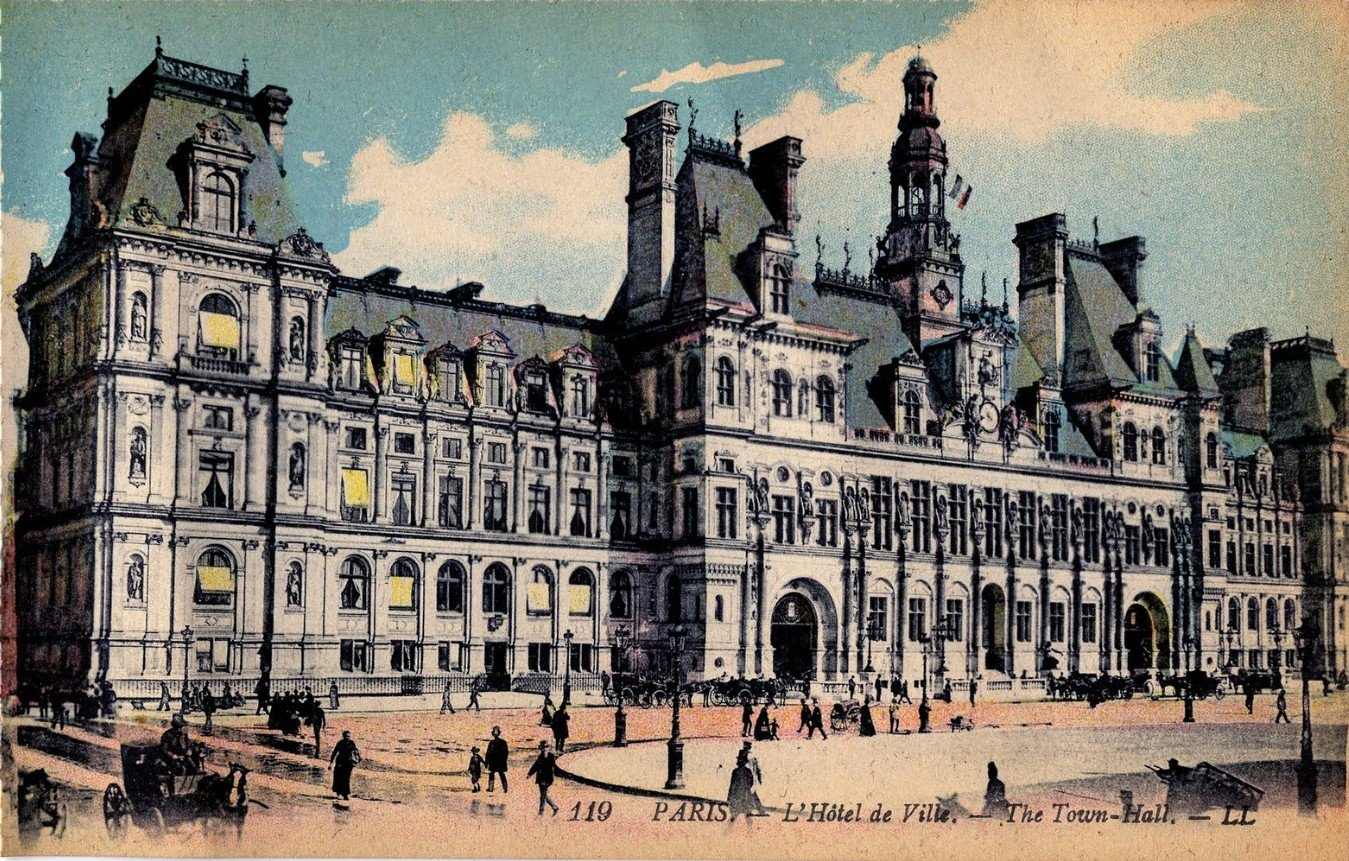 2Questions-025155 (Postcard Paris, France)