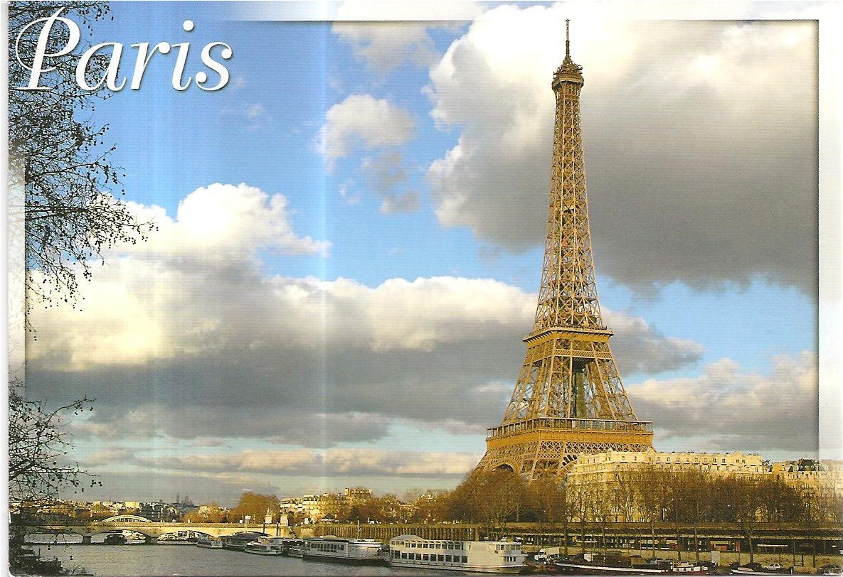 2Questions-025156 (Postcard Paris, France)-