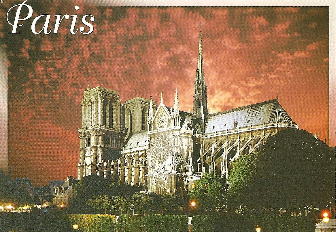 2Questions-025158 (Postcard Paris, France)